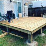 outside deck builder