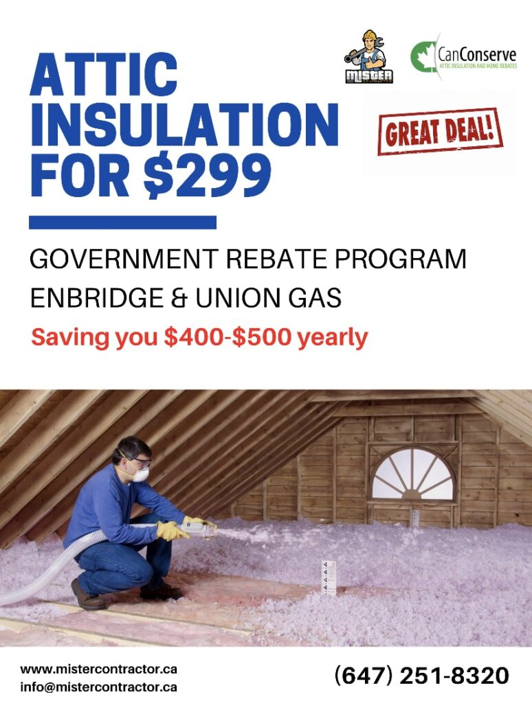 attic insulation deal